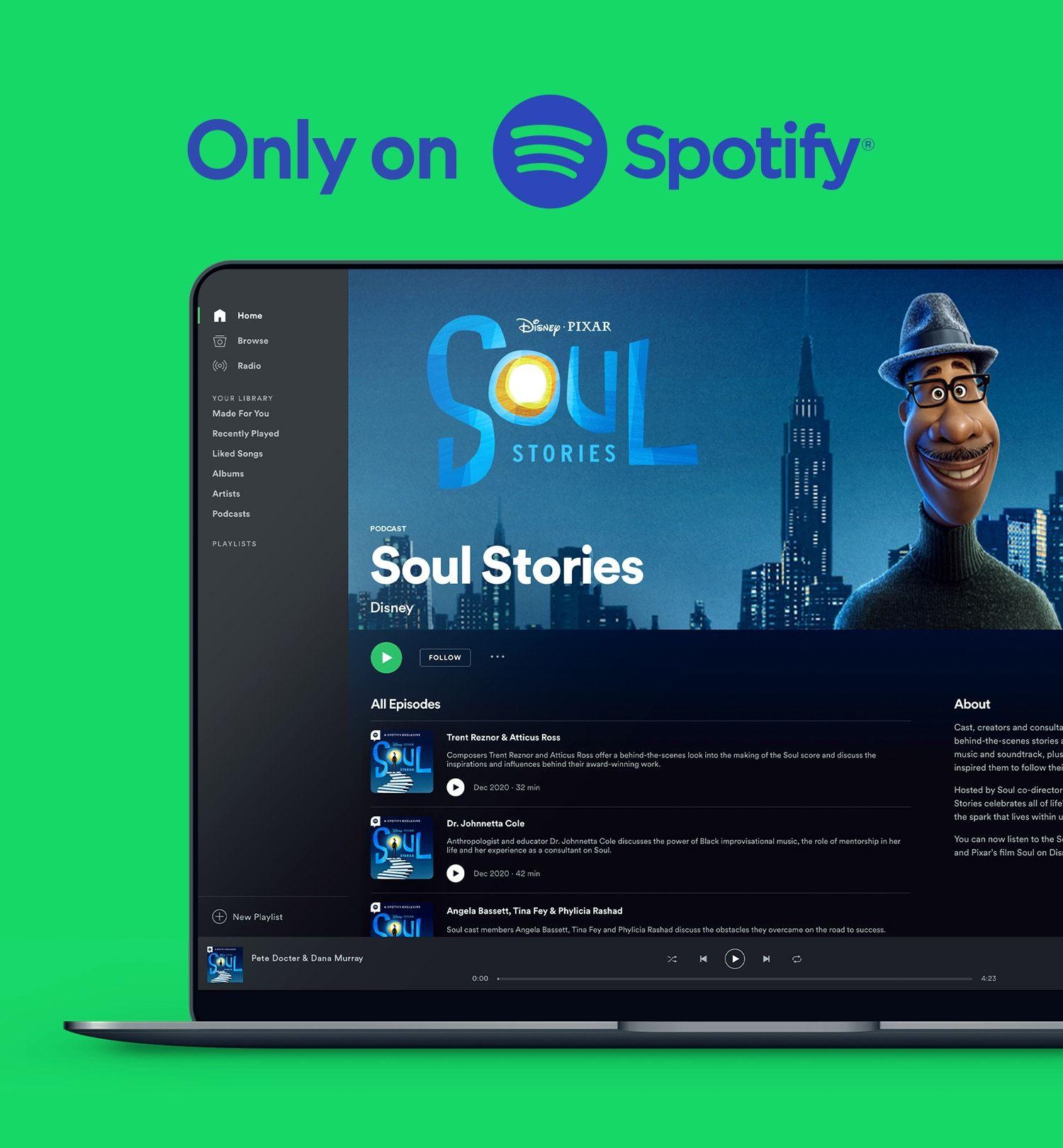 Gershoni CS Spotify Soul Only On Spotify 1920x1080 030921