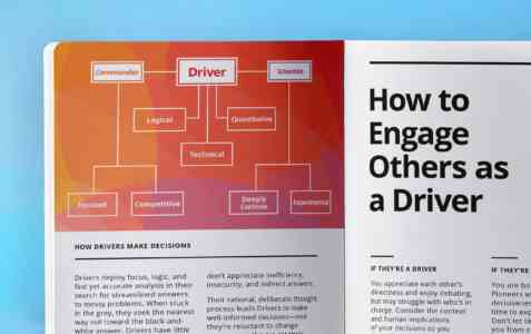 Close-up image of how to engage others as a Driver.