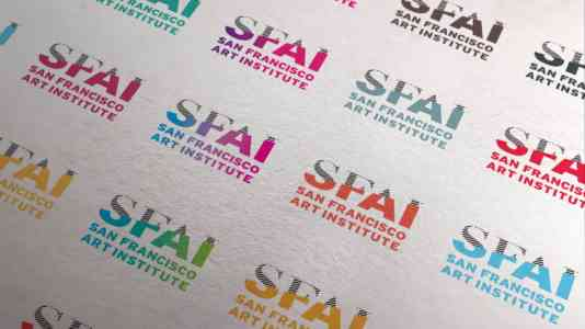 Variety of color schemes for the SFAI logo.