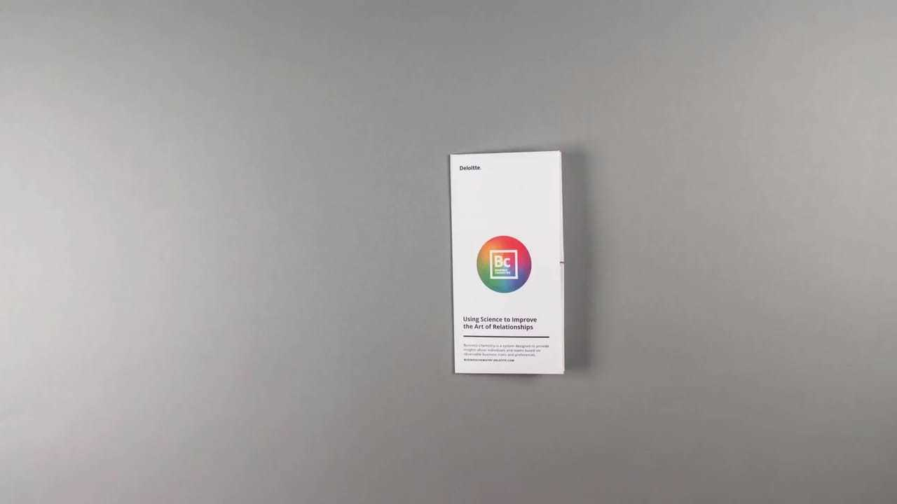 04 Gershoni CaseStudy Deloitte Business Chemistry Map Video Poster