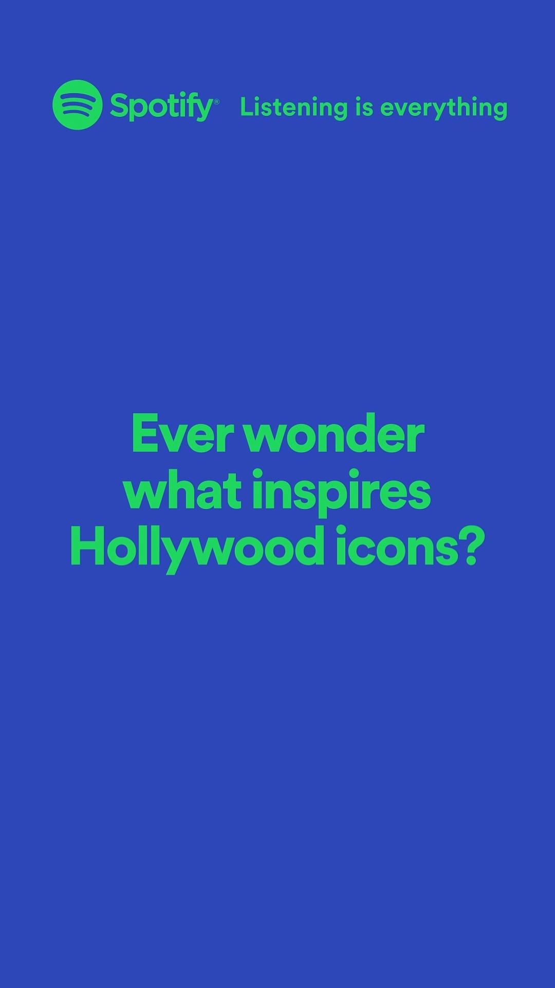 Gershoni CS Spotify Soul Social Ad Hollywood Icons 1080x1350 Video Poster 030421